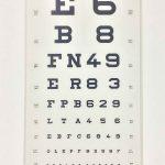 Optiker Lesetafel